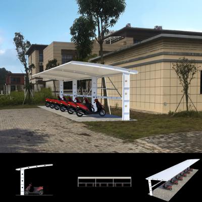 承接江苏地区充电桩停车场防雨防晒膜结构雨棚工程