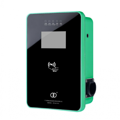 7KW交流充电桩壁挂式带屏幕带网络便携式充电器厂家供应