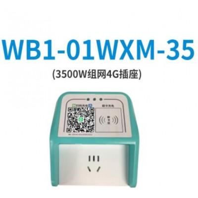 单路5口输出电瓶车充电智能4G组网插座